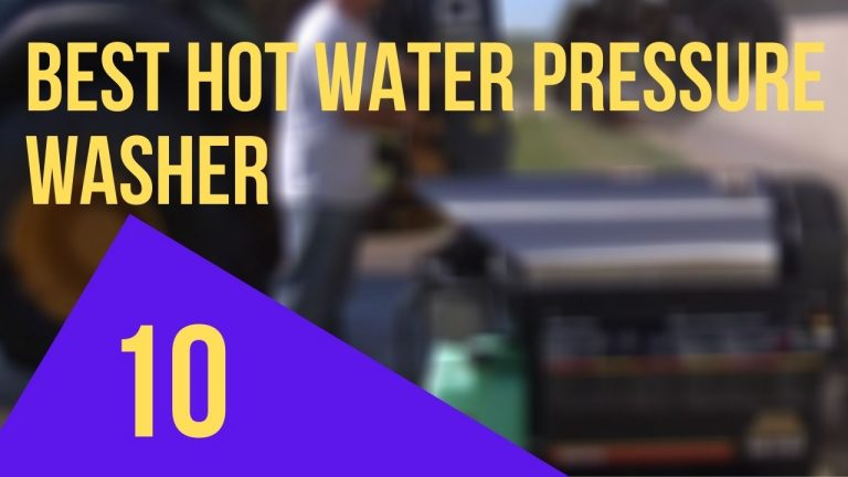 best hot water pressure washer