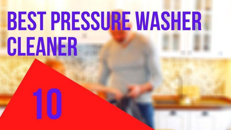 best pressure washer cleaner