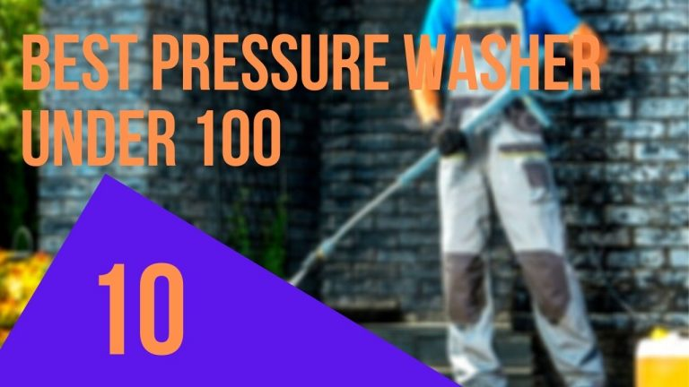 best pressure washer under 100