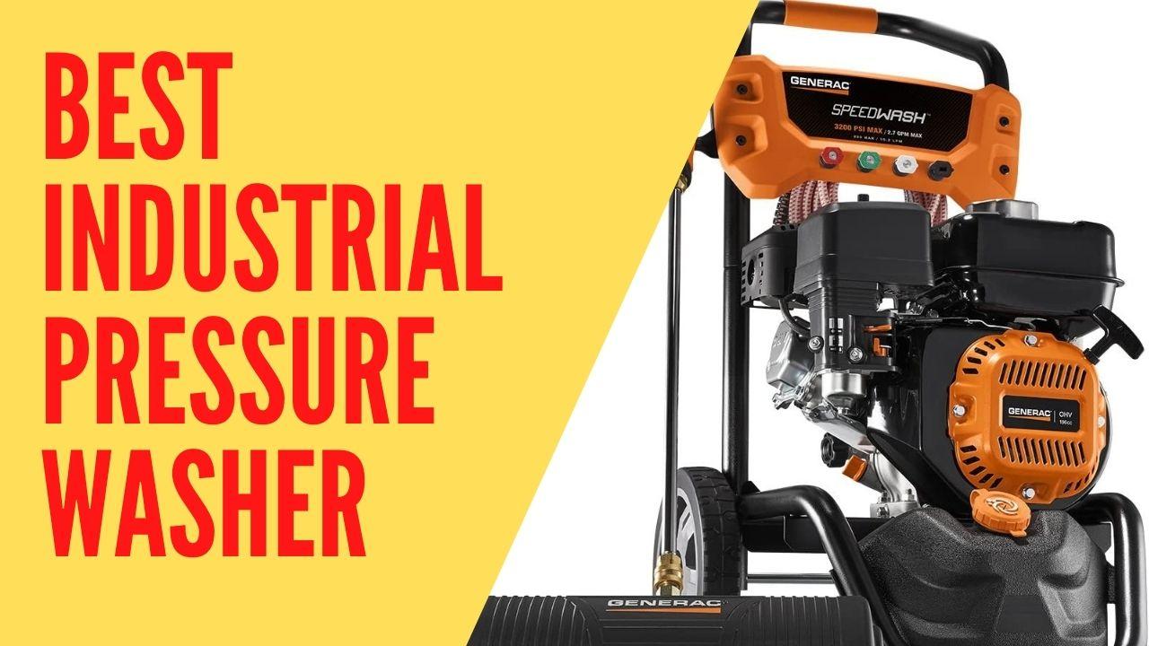 best industrial pressure washer