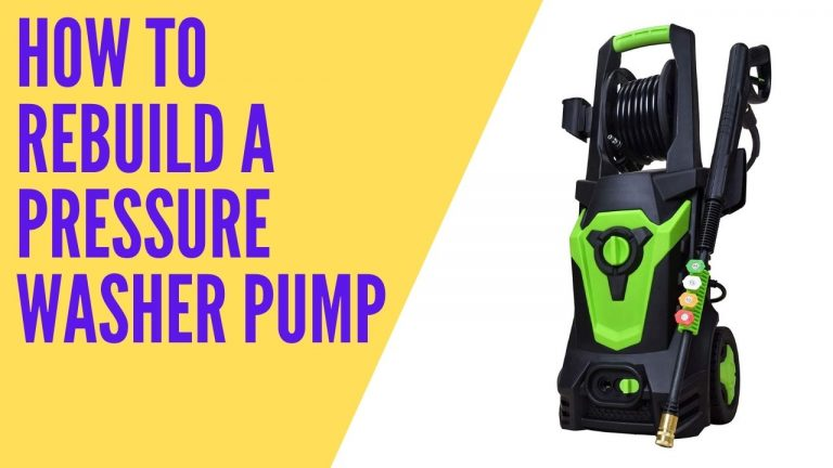 How To Rebuild A Pressure Washer Pump