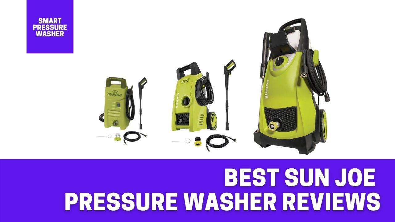 best sun joe pressure washer reviews